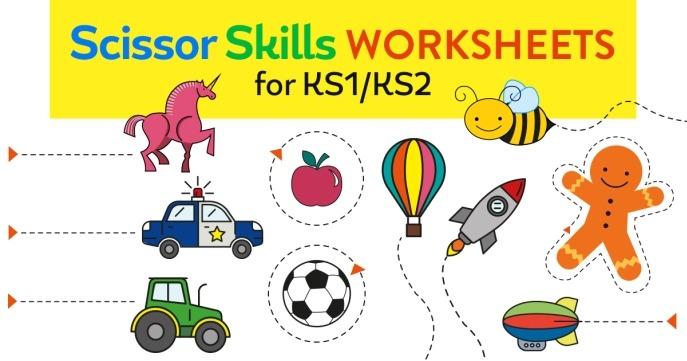 Scissor Skills Worksheets For Ks1 Ks2