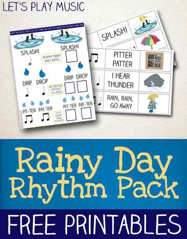 Rainy Day Rhythm Games