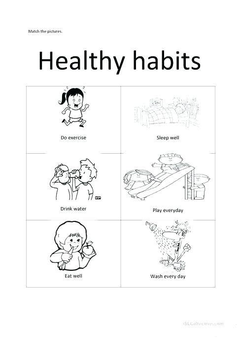 Second Grade Health Worksheets