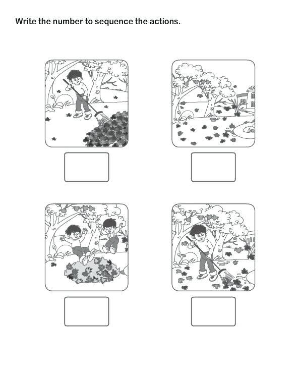 Sequence Of Events Worksheets Worksheet For Kindergarten Free