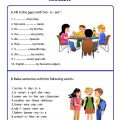 Worksheets Verb To Be
