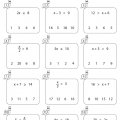 Two Step Inequalities Worksheets 7th Grade