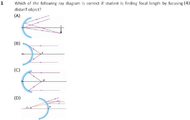 Physics Worksheet Light Reflection & Refraction For Class 10 Cbse