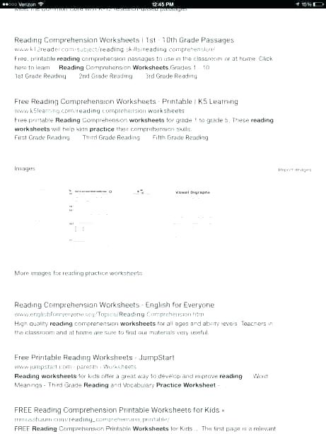 10th Grade Reading Comprehension Worksheets Grade Vocabulary