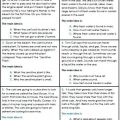 Main Idea Worksheets 3rd Grade