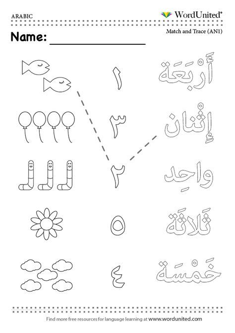 Count In Arabic (1