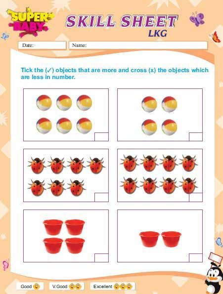 Lkg Worksheets Free Download