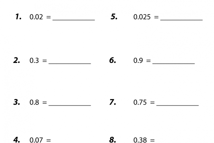 Free 6th Grade Advanced Math Worksheets With 25 Best 7th Grade