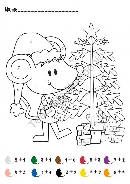 Free Christmas Addition Math Activity Product From
