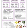 Worksheets For Kids Verb To Be