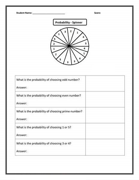 Free Fun Math Worksheets For 6th Grade