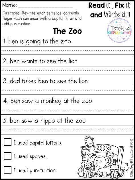 Best 25+ Simple Sentences Worksheet