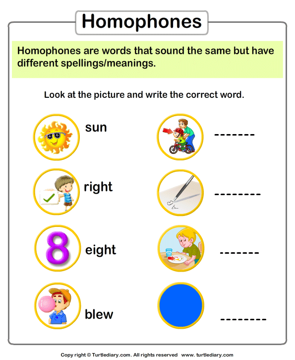 English Worksheets For Grade 1 Number Names