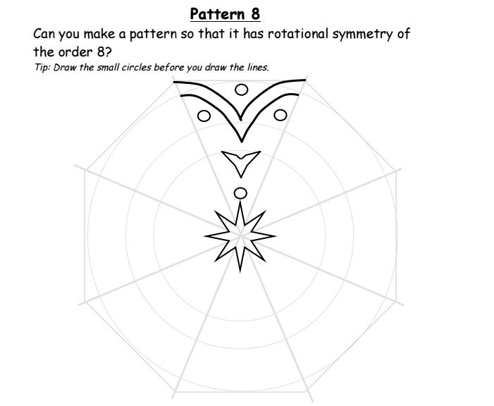 Rangoli Reflective And Rotational Symmetry