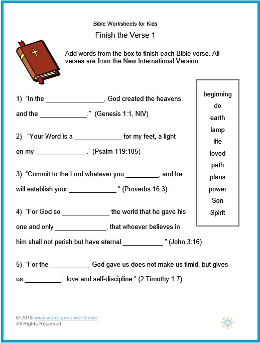 Bible Worksheets For Kids Bible Worksheets For Kids 2019 Geometry