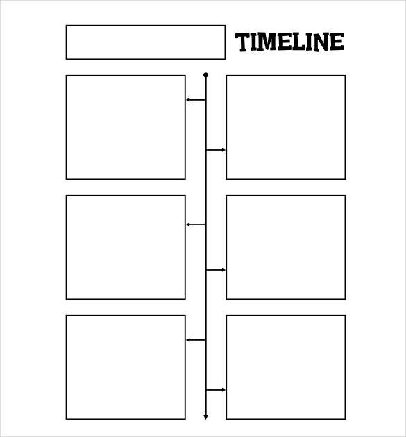 47+ Blank Timeline Templates