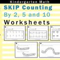 Counting To 10 Worksheets For Kindergarten