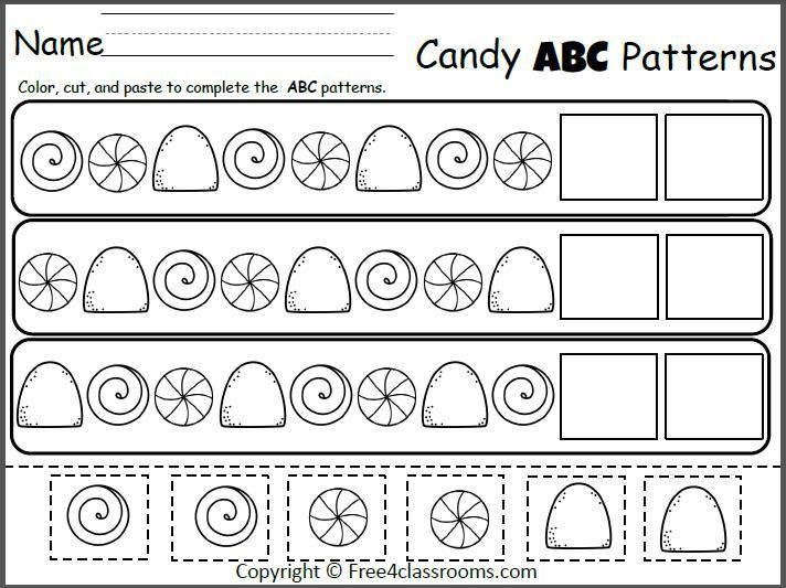 Free Christmas Worksheets For Kindergarten