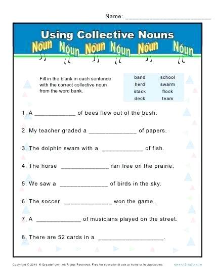 Plural Nouns That Follow The Rules Sometimes Noun Worksheet Number