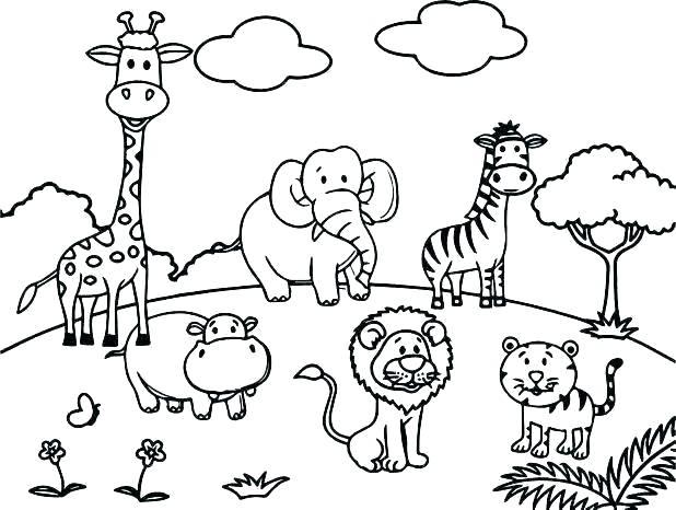 Wild Animals Worksheets – Macoopenlife Com