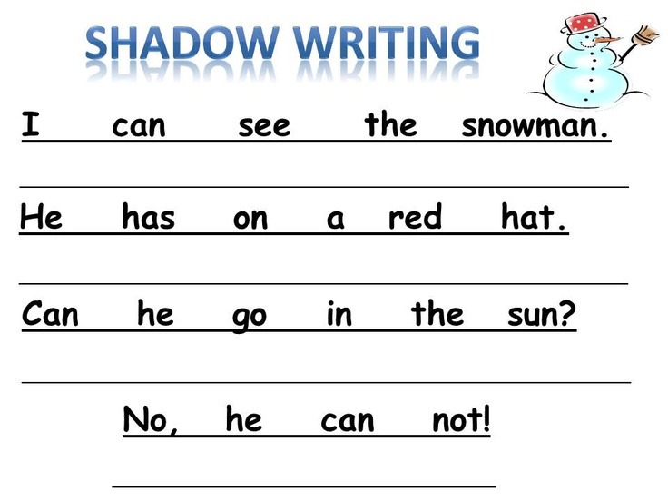 List Of Synonyms And Antonyms Of The Word  Kindergarten Shadow