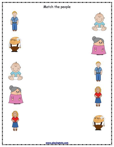 Worksheet,people,family,free,printable,toddler,preschool,kid,file