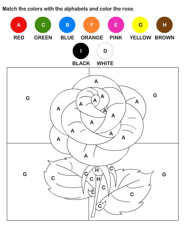 Esl Colours Worksheets