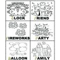 Family Worksheets Kids