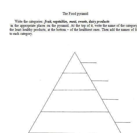 Food Pyramid Worksheets Multi Step Equations Worksheet