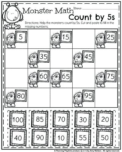 Free Math Coloring Pages For 1st Grade Awesome Kindergarten Cut