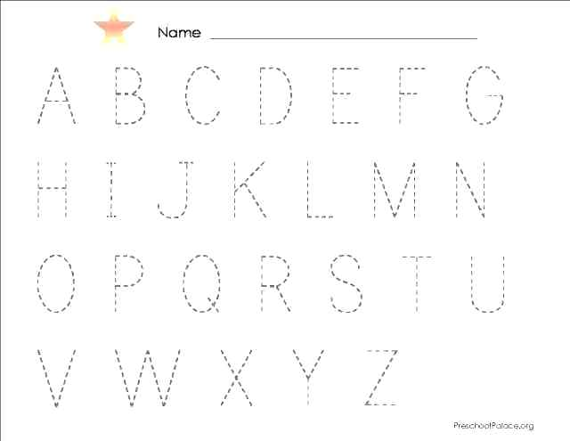 Abc Worksheets For 3 Year Olds – Odmartlifestyle Com