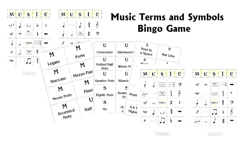 Free Rhythm Worksheets Learning Music Notes Elementary Printable