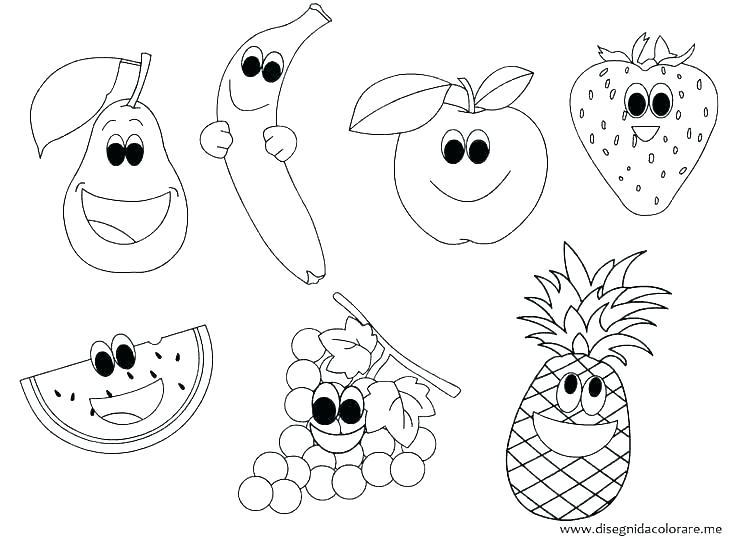 Fruits And Vegetables Worksheets Pdf Coloring Vegetables Coloring