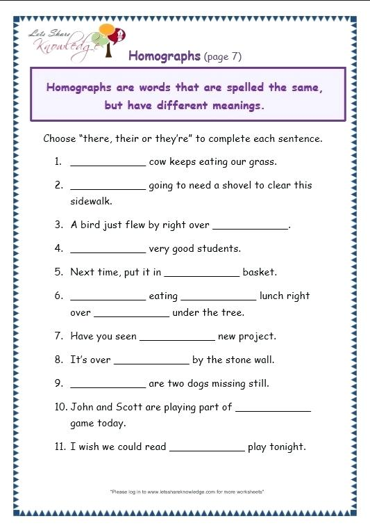 Grade 7 English Grammar Worksheets Second Grade Grammar Worksheets