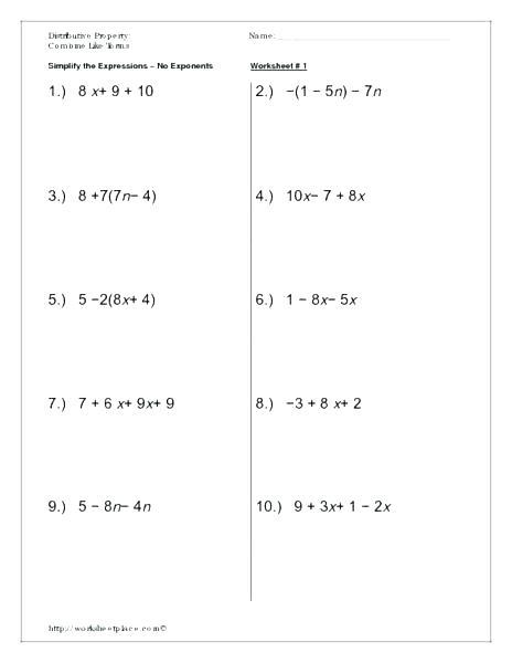 9th Grade Printable Worksheets Free