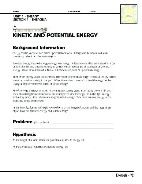 Light Energy Worksheets 3rd Grade 5th