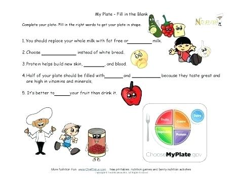 Grade Vitamins And Minerals Worksheet 3 Free Worksheets For Web