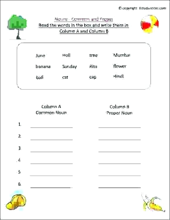 Grammar Worksheets For Grade 1 Collection Of Gender Nouns