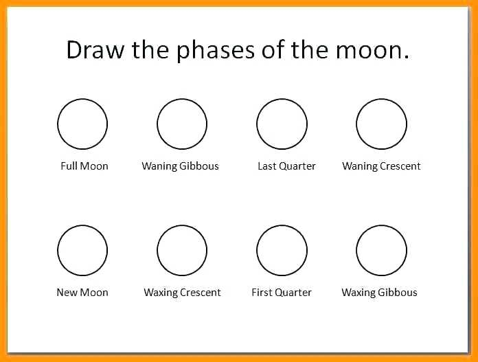 Moon Phases Worksheets 7th Grade
