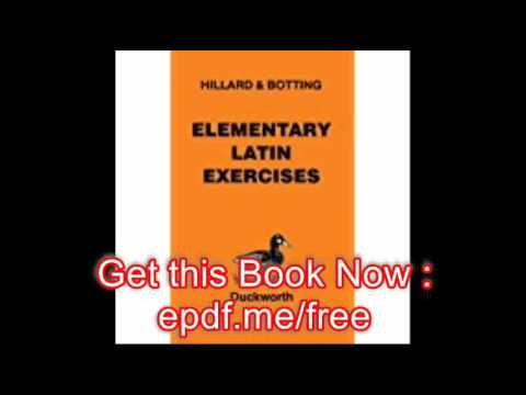 Download Elementary Latin Exercises An Introduction To North And