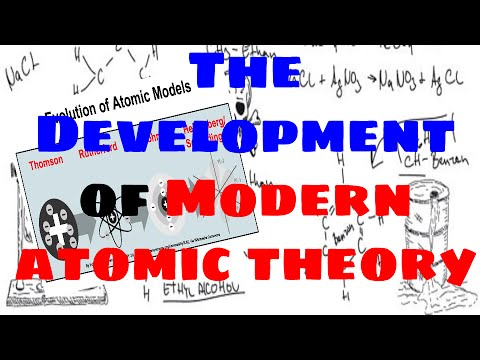 The Development Of Modern Atomic Theory