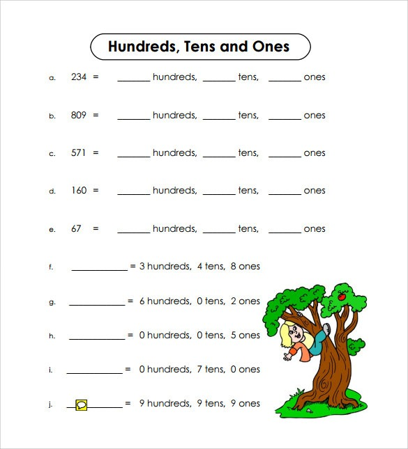 8+ Kindergarten Worksheet Examples