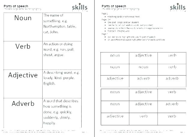 Kinds Of Adjectives Worksheets With Answers