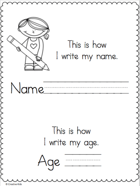 Learn To Write My Name Worksheet Need Assignment Help