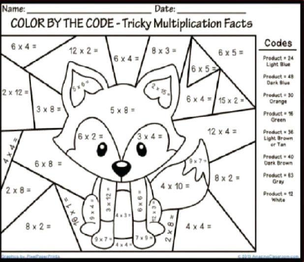 Math Worksheets 4 Graders