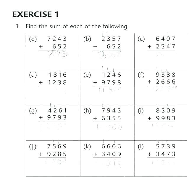 Math Worksheets Grade 4 Multiplication Word Problems Free