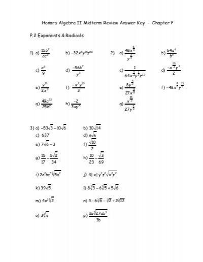 Mcdougal Littell Algebra 2 Practice Workbook Answers Pdf New