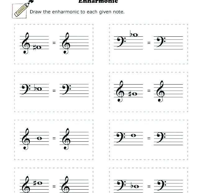 Music Worksheets For High School Easy Music Theory For Middle