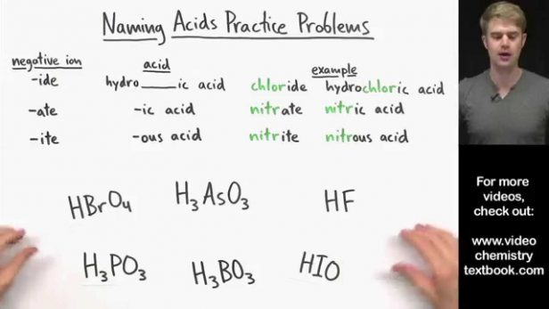 Worksheet  Naming Acids And Bases Worksheet Answers  Science