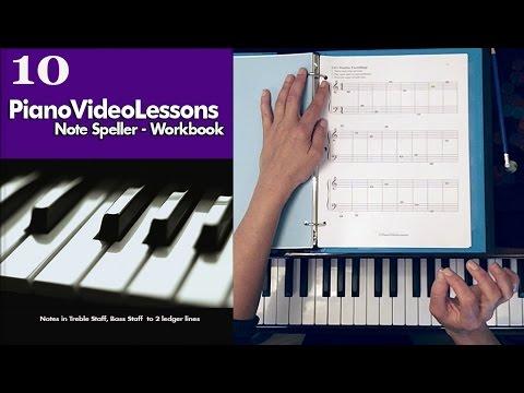 Note Speller Workbook For Piano